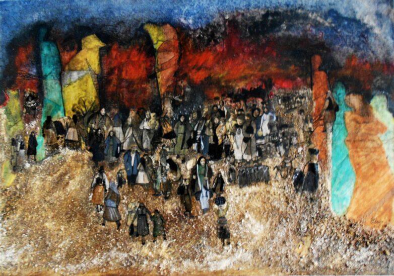 Έκθεση έργων της Κατερίνας Σαμαρά εγκαινιάζεται στο Χώρο Τέχνης δ.