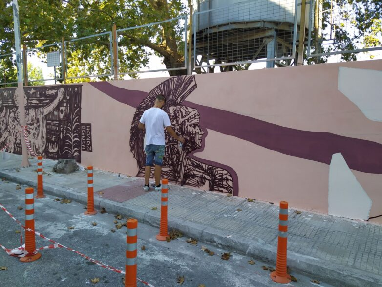 Ολοκλήρωση της δημόσιας τοιχογραφίας για την Αργοναυτική Εκστρατεία