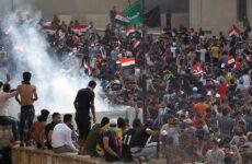 Σκηνικό κοινωνικής εξέγερσης στο Ιράκ