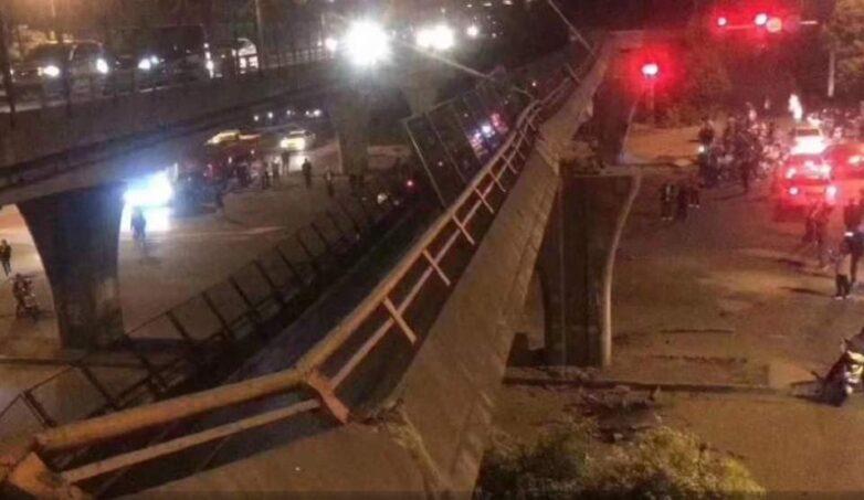 Κίνα: Γέφυρα κατέρρευσε πάνω σε αυτοκίνητα – Φόβοι για νεκρούς
