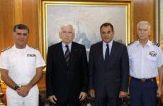 O εφοπλιστής Πάνος Λασκαρίδης δώρισε πλοίο στο Πολεμικό Ναυτικό