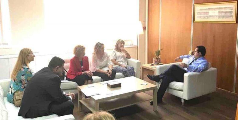 Συναντήσεις Ζέττας Μ. Μακρή για τη λειτουργία και οργάνωση του Περιφερειακού Παραρτήματος ΕΦΚΑ Βόλου