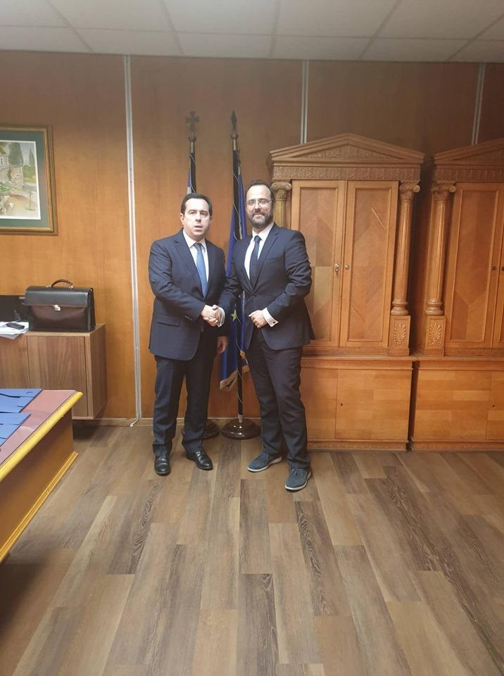 Κ. Μαραβέγιας: Αναγκαία η λειτουργική ενίσχυση του ΕΦΚΑ σε Βόλο και Λάρισα