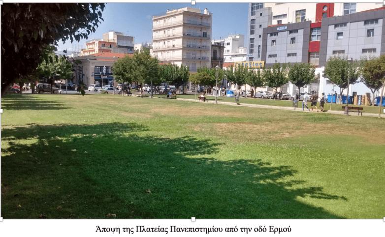 Αλλάζει όψη η πλατεία Πανεπιστημίου