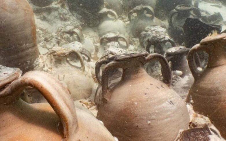 Ανακαλύφθηκε ένα από τα καλύτερα διατηρημένα αρχαία ναυάγια της Μεσογείου