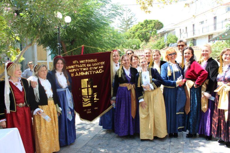 Τμήματα εκμάθησης παραδοσιακών χορών από την Μητρόπολη Δημητριάδος & Αλμυρού