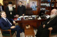 Μεταναστευτικό: Σύσκεψη στο συνοδικό μέγαρο της Εκκλησίας της Ελλάδος παρουσία Χρυσοχοΐδη – Κουμουτσάκου