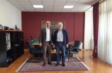 Στον δήμαρχο Αλμυρού ο συντονιστής Αποκεντρωμένης Διοίκησης Θεσσαλίας -Στ. Ελλάδας