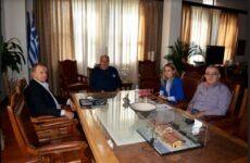Συνάντηση Αχιλλέα Μπέου με την διοίκηση του ΟΛΒ