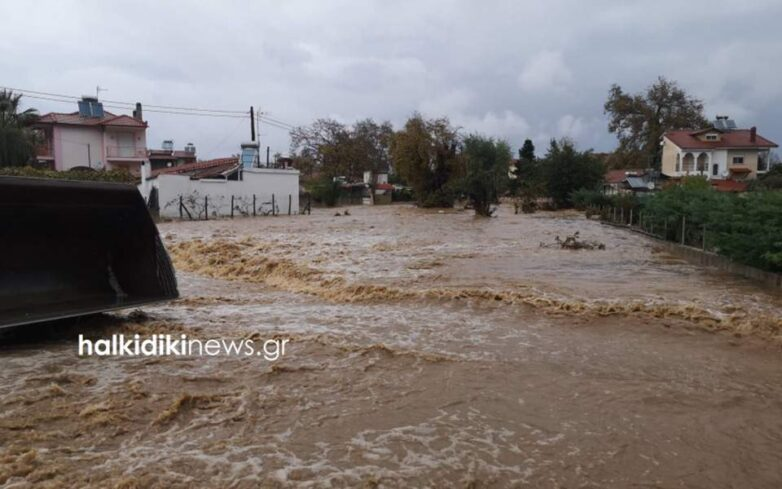 Κυβερνητικό κλιμάκιο σε Θάσο και Χαλκιδική για τις καταστροφές από την κακοκαιρία
