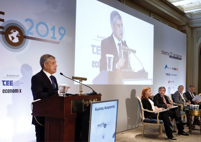 Παρέμβαση Κ. Αγοραστού σε συνέδριο του ΤΕΕ στην Αθήνα