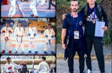 Χάλκινο μετάλλιοο Κ. Κορομηνάς  στο Πανελλήνιο Κύπελλο Καράτε Εγχρώμων & Μαύρων Ζωνών