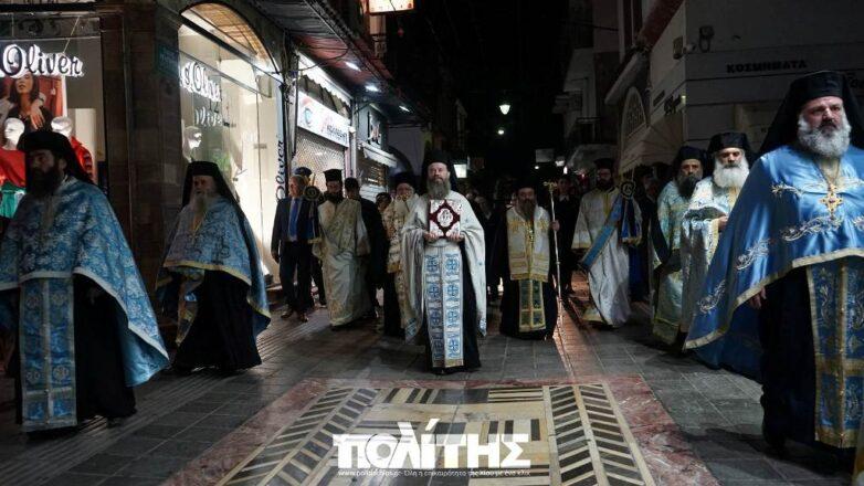 Στα Ελευθέρια της Χίου ο μητροπολίτης Δημητριάδος