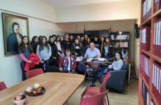 Επίσκεψη 6ου Γυμνασίου Βόλου στη γενέτειρα του Ρήγα Βελεστινλή