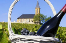 Άνοιγμα φετεινού κρασιού Beaujolais στην Εξωραïστική Λέσχη Βόλου