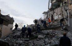 Δέκα έξι νεκροί, 700  τραυματίες και δεκάδες αγνούμενοι από σεισμό 6,4 Ρίχτερ στην Αλβανία