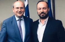 Συνάντηση δημάρχου Μουζακίου με τον υπουργό Περιβάλλοντος και Ενέργειας