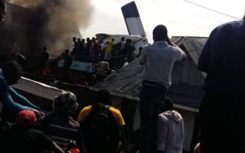 Κονγκό: Τουλάχιστον 24 νεκροί από τη συντριβή αεροσκάφους σε πυκνοκατοικημένη συνοικία