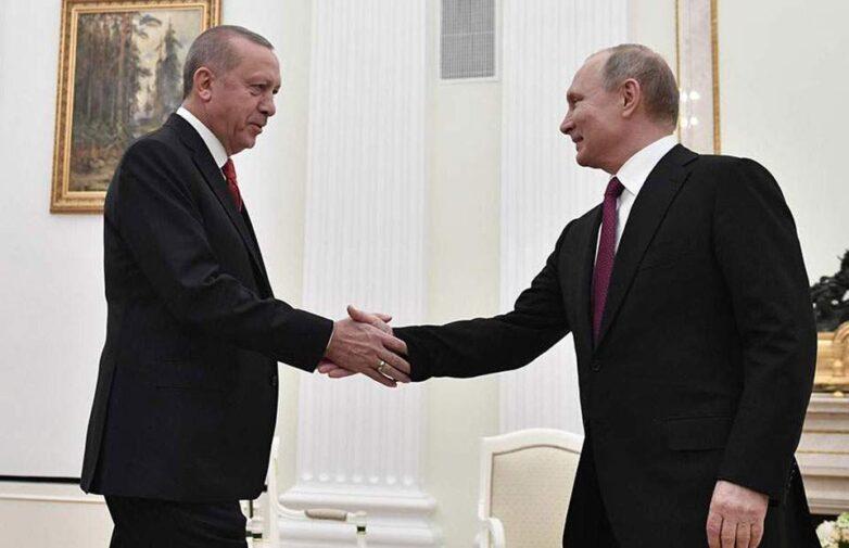 Ερντογάν και Πούτιν συζήτησαν το θέμα της βορειοανατολικής Συρίας