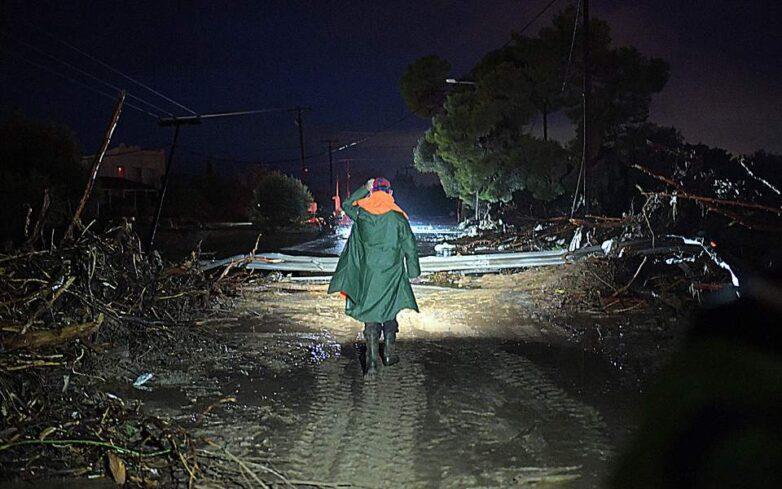 Ζημιές σε τουλάχιστον 300 σπίτια από την κακοκαιρία στην Κινέττα