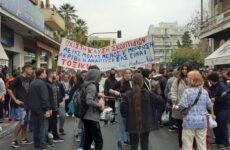 Δύο συλλαλητήρια στο Βόλο