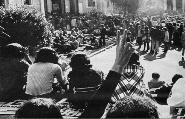 Η εξέγερση: «Η ανθρώπινη ιστορία άρχισε με μια πράξη ανυπακοής…»