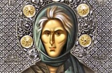 Στον Μητροπολιτικό ναό το Ιερό Λείψανο της Οσίας Σοφίας της Κλεισούρας