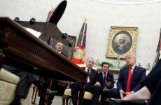 Σε φιλικό κλίμα αλλά με εκκρεμότητες η συνάντηση Τραμπ-Ερντογάν
