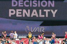 Έντονος προβληματισμός στην Αγγλία για την εφαρμογή του VAR