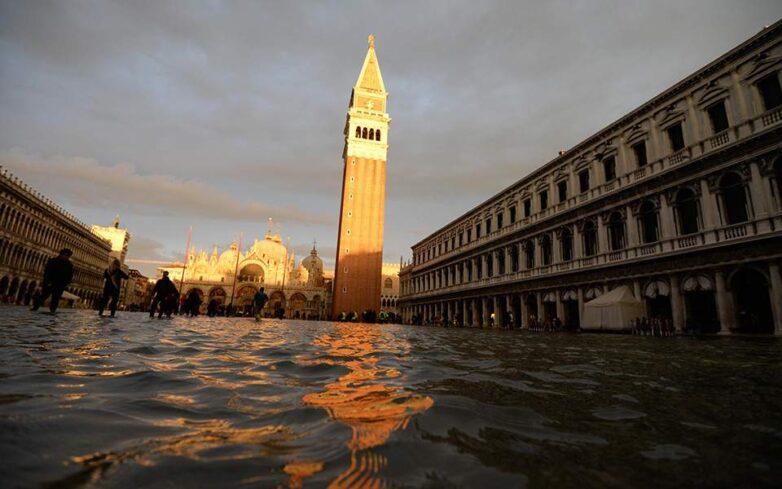 Νέα πλημμύρα στη Βενετία