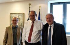 Θέματα παιδείας στη Μαγνησία έθεσε ο βουλευτής Αθ. Λιούπης στους αρμόδιους υφυπουργούς