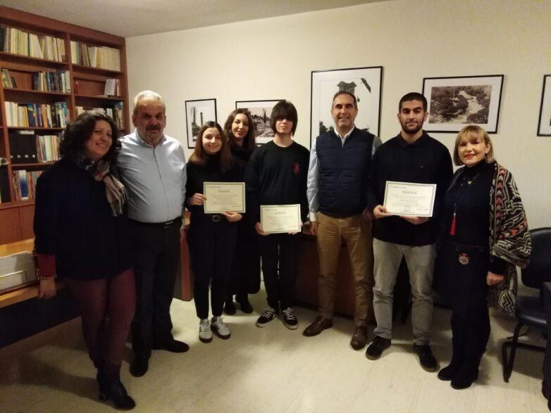 Τα βραβεία «Μαρίνου και Ιωάννου Μαρκατά» απονεμήθηκαν σε φοιτητές δημοσιογραφίας
