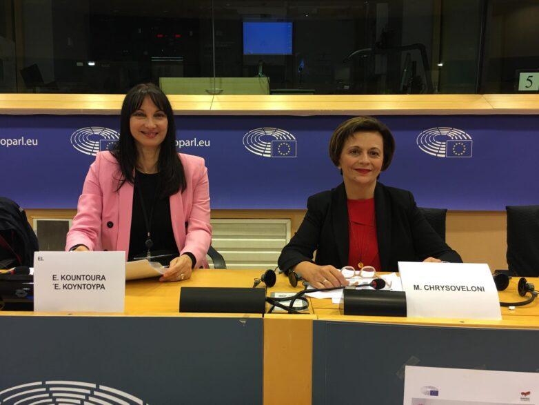 Στο Ευρωκοινοβούλιο ως ομιλήτρια η Μαρίνα Χρυσοβελώνη
