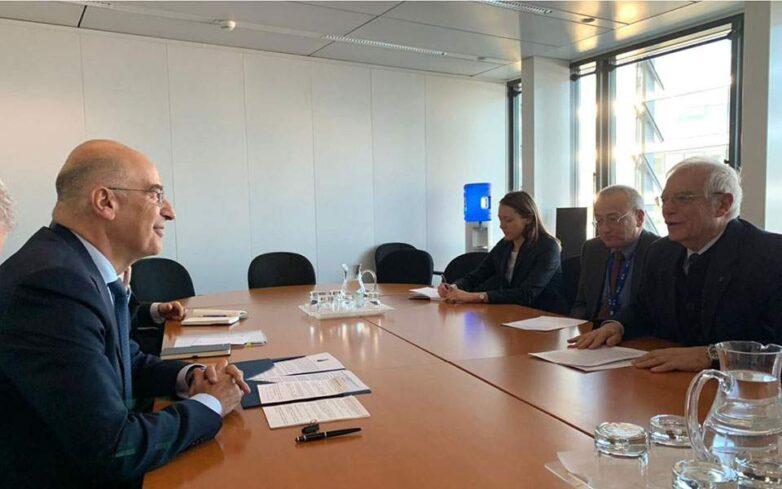 Την παρέμβαση της ΕΕ για τα μνημόνια Τουρκίας-Λιβύης ζήτησε η Ελλάδα