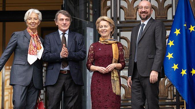 Ανέλαβαν καθήκοντα η Ούρσουλα φον ντερ Λάιεν και ο Σαρλ Μισέλ