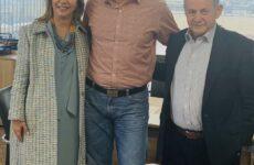 Με τον πρόεδρο του ΔΣ ΕΟΠΥΥ συναντήθηκε η Ζέττα Μ. Μακρή