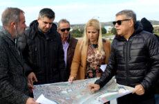 Αυτοψία και τεχνική σύσκεψη για την κατασκευή του νέου ποδηλατοδρομίου στο Βόλο
