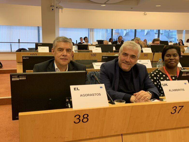 Παρέμβαση Κ. Αγοραστού στις Βρυξέλλες υπό την άμεση απειλή του Brexit