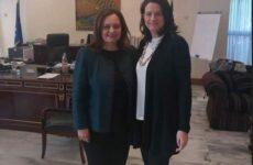 Συναντήσεις της αντιδημάρχου Βόλου Γεωργίας Μποντού -Τοκαλή στο Υπουργείο Παιδείας και Θρησκευμάτων