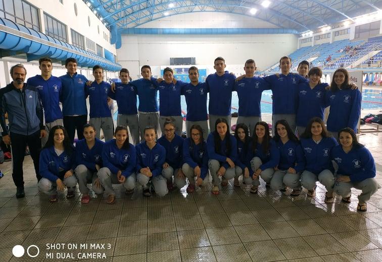 Λάμψη επιδόσεων και μεταλλίων από την κολύμβηση της Νίκης Βόλου στο Grand Prix Χριστουγέννων