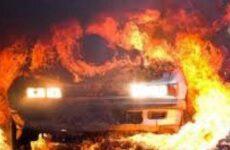 Καταστράφηκε αυτοκίνητο από φωτιά  στο ύψος του ΠΕΒ