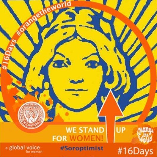 Eκδήλωση ενάντια στη βία κατά των γυναικών από τονσοροπτιμιστικόόμιλο Βόλου «ΘΕΤΙΣ»