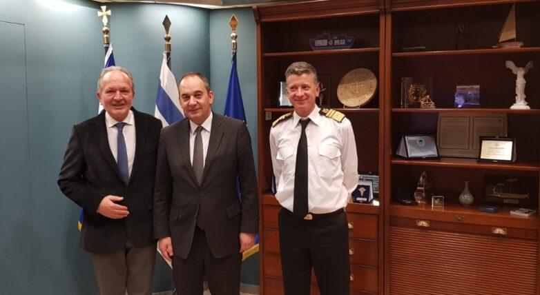 Στον υπουργό Ναυτιλίας και Νησιωτικής Πολιτικής έθεσε τα θέματα της Μαγνησίας ο βουλευτής Αθ. Λιούπης