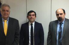 Για τα θέματα της Σκιάθου ενημερώθηκε ο γ.γ. Οικονομικής Πολιτικής Χρ. Τριαντόπουλος