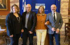 Συνάντηση Ζέττας Μακρή με προέδρους και εκπροσώπους συμβολαιογραφικών συλλόγων