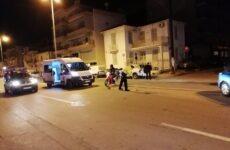 Τραυματίας 45χρονη οδηγός μοτοποδηλάτου σε τροχαίο στο Βόλο