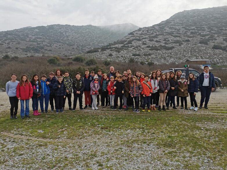 Εκπαιδευτική επίσκεψη του 22ου Δ.Σ. Βόλου στον Δήμο Ρήγα Φεραίου