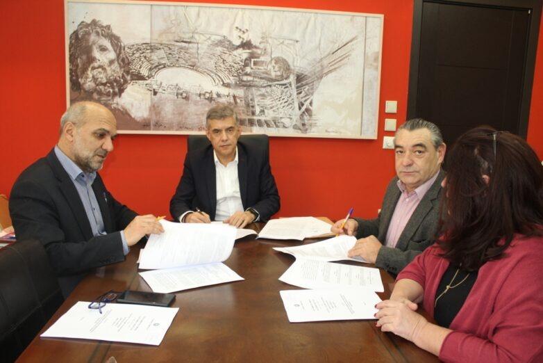 Υπογράφηκε η Προγραμματική Σύμβαση για τα Υποβρύχια Μουσεία στη Μαγνησία