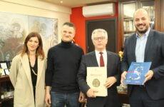 Στην Περιφέρεια Θεσσαλίας ο γενικός πρόξενος της Γαλλίας στη Θεσσαλονίκη