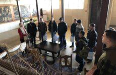 Επίσκεψη στελεχών της 3-17 Cav Αεροπορία Στρατού των ΗΠΑ στο Δημαρχείο Βόλου